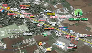 Dollar Tree Jerseyville IL map 1